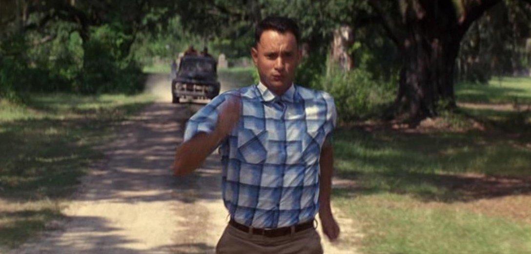 I just felt like running!