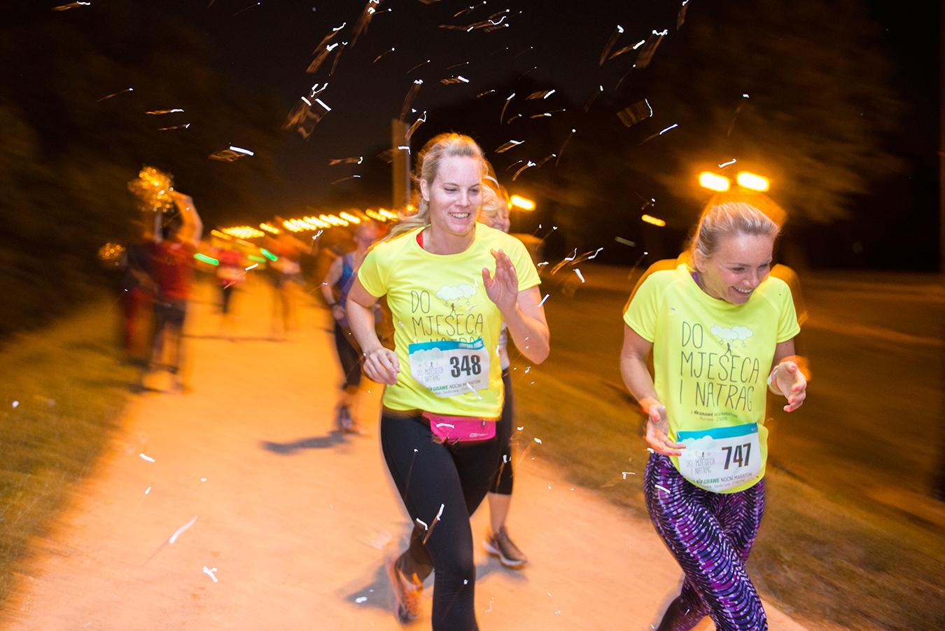 GRAWE Noćni Maraton mobilna aplikacija