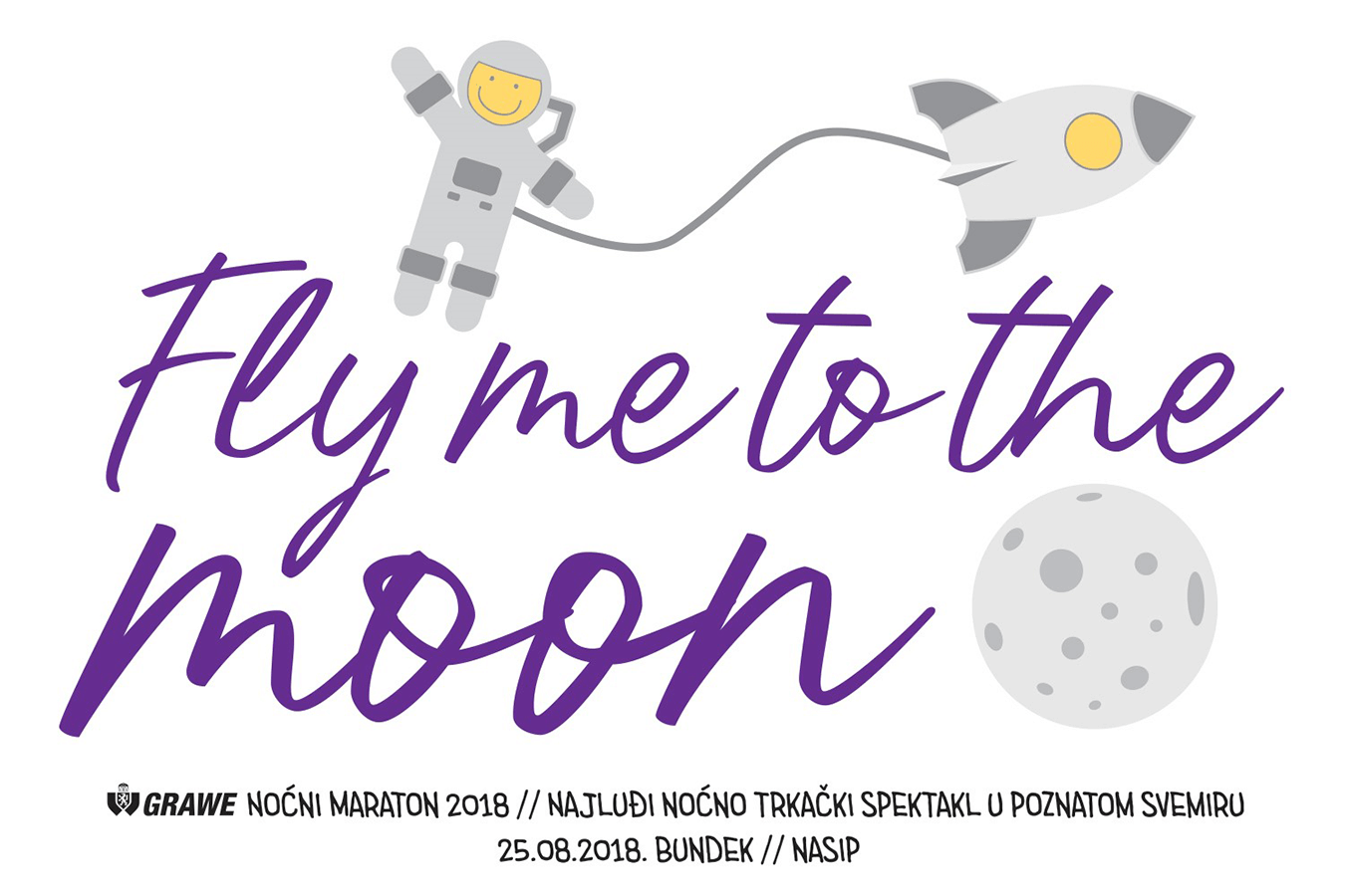 5. GRAWE Noćni maraton: Fly me to the moon