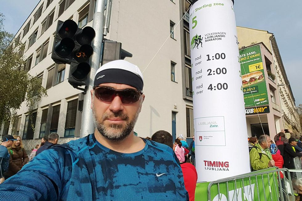 Vojislav Mazzocco: Jedan čovjek, jedna lopatica i jedan polumaraton